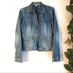 LOFT Stretch denim jean jacket